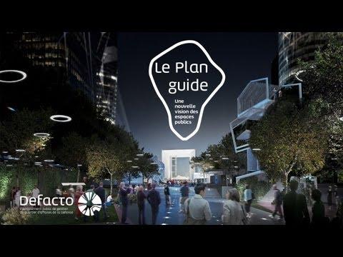 Defacto et les acteurs majeurs de La Défense présentent le Plan guide