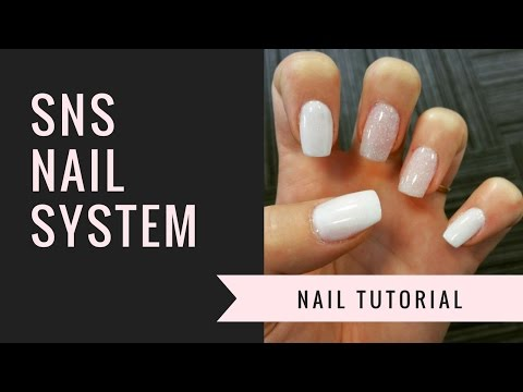 SNS Nail Tutorial | Natural Nails | jiannajay