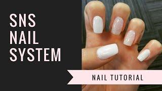 SNS Nail Tutorial | Natural Nails | jiannajay
