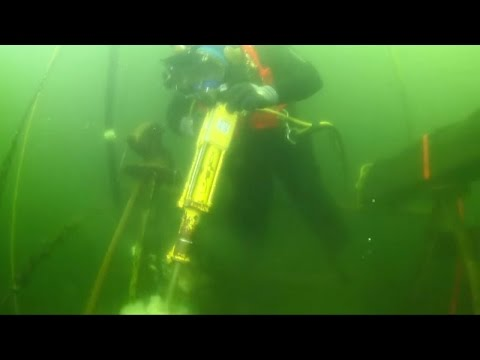 Underwater Jackhammer ... and how to BLOW THINGS UP underwater