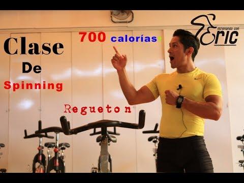 Clase de Spinning Quema calorías 700? Sprint Agranda tus Piernas con Música Reggaeton