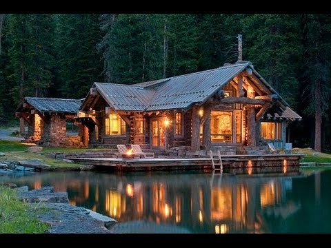 Just You And Lone Mountain Montana S Lakeside Log Cabin