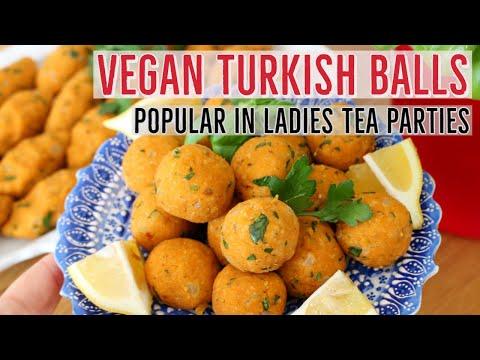Turkish Lentil Kofta Balls | Mercimek Köftesi (Vegan) By Aysenur Altan