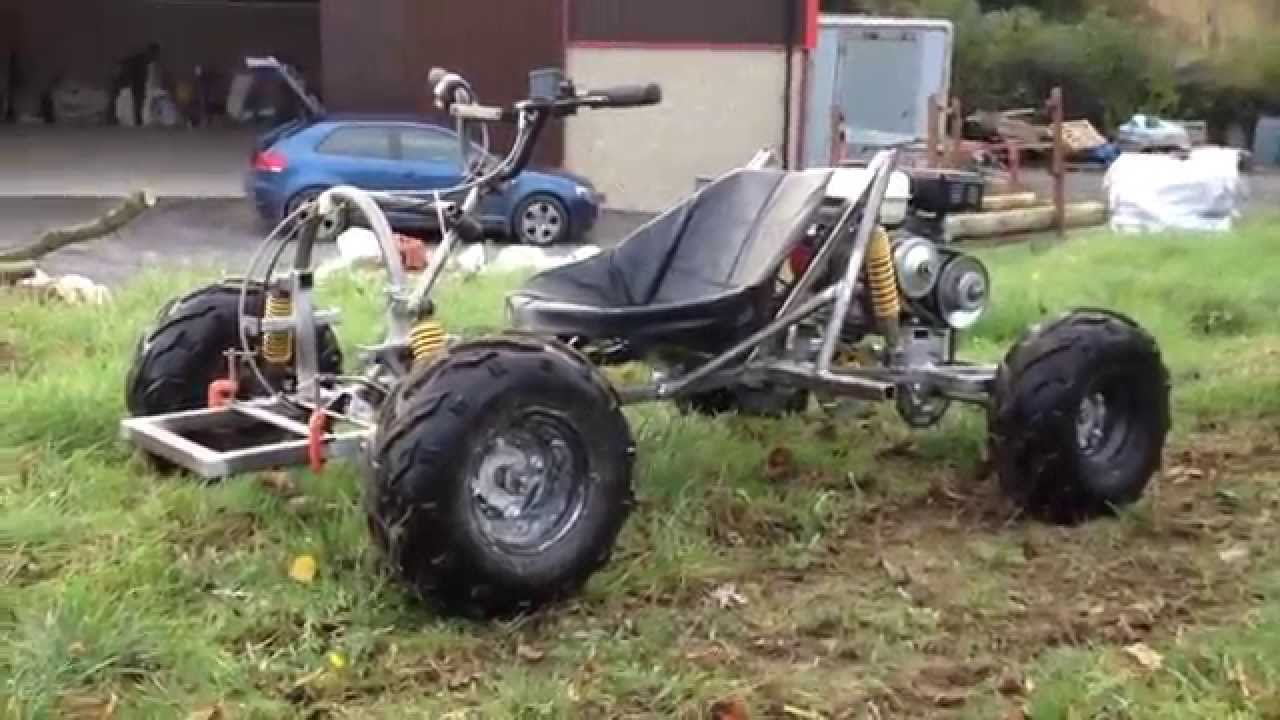 how to make off road go kart faster