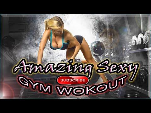 Amazing Sexy Gym Body Workout