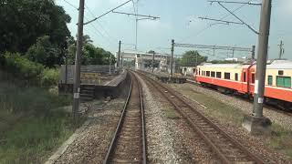 台鐵 3157次 最長區間區間車 嘉義 - 西勢 路程景 EMU800電聯車