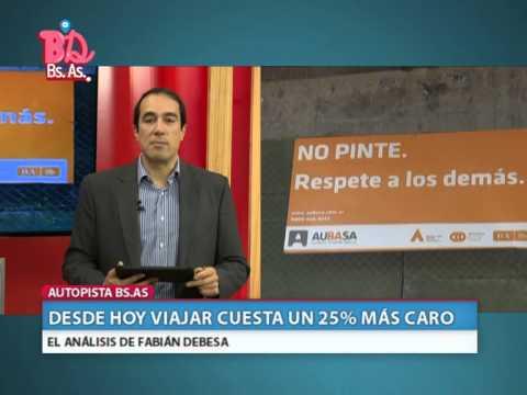 BUENOS DIAS BUENOS AIRES - VIAJAR AHORA ES MAS CARO - BLOQUE 3 (09.09.14)