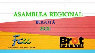 Asamblea regional Bogotá 2020