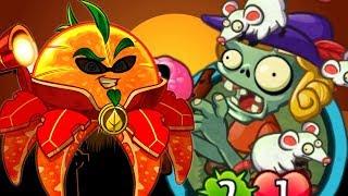 ✔️ZOMBIE GỌI CHUỘT VÀ CAM TƯƠNG LAI SIÊU CHẤT | Plants Vs Zombies 2 HEROES | Hoa Quả Nổi Giận 2