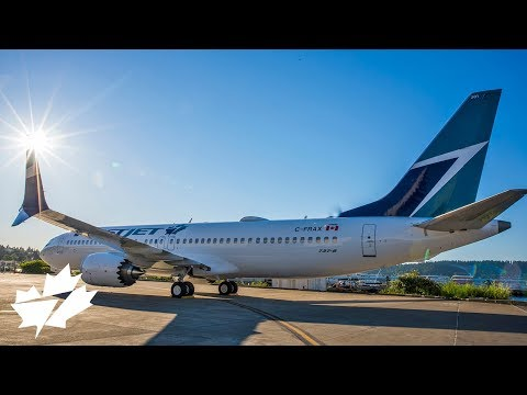 WestJet 737 MAX 8 from build to delivery flight