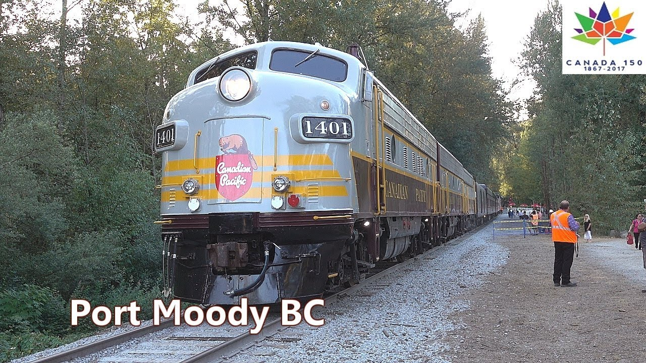 CP CANADA 150 TRAIN #1401 - Port Moody July 28, 2017 Dean Brody Dirt Roads Scholar