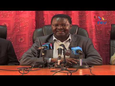 Francis Nyenze dies aged 60 - Nyenze's famous political moments