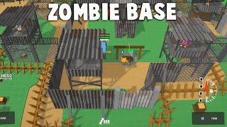 MASSIVE ZOMBIE INVASION!  Zombie Base Simulator Game (Don