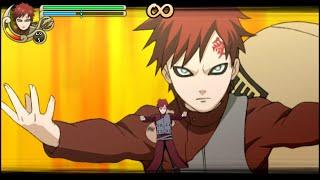 Naruto Shippuden Ultimate Ninja Impact Walkthrough Part 3 Gaara vs Deidara (60 FPS)