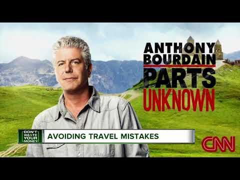 Avoiding travel mistakes