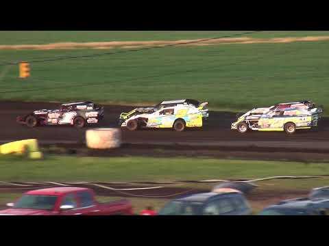 IMCA Sport Mod feature Benton County Speedway 7/15/18