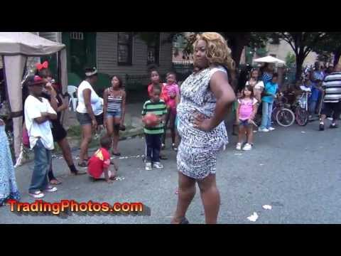 Fashion Show, Sumpter Street Block Party in Brooklyn NY