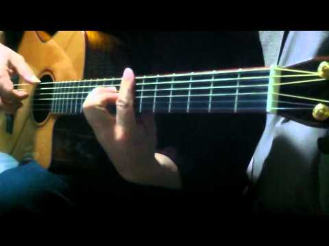 AKB48 GIVE ME FIVE ! acoustic guitar solo.