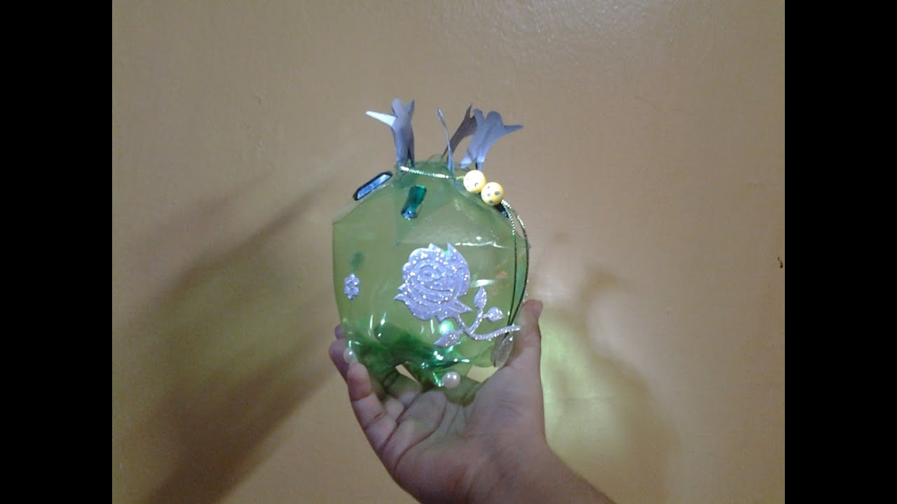 Best out of waste plastic bottle transformed to unity gift for Best out of plastic