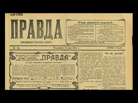 5th May 1912: Russian Communist newspaper Pravda first published