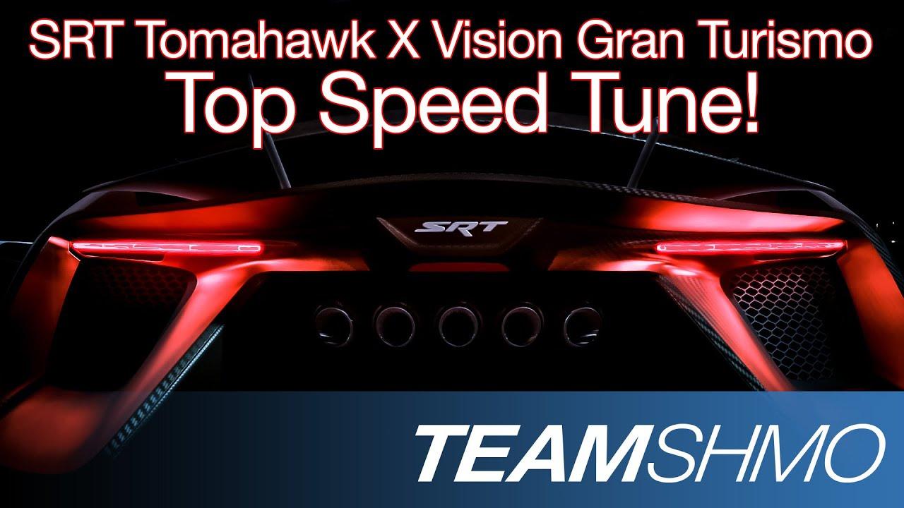 Gt6 world s fastest srt tomahawk x vision gran turismo top speed tune youtube