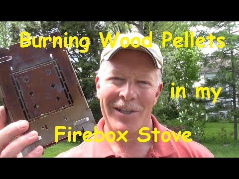 Burning Wood Pellets in my Firebox Stove