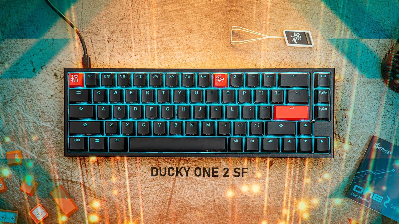 My PERFECT Keyboard – Ducky ONE 2 SF (65%)