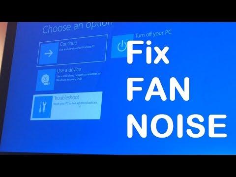 How to fix fan noise issue in an ultrabook - YouTube