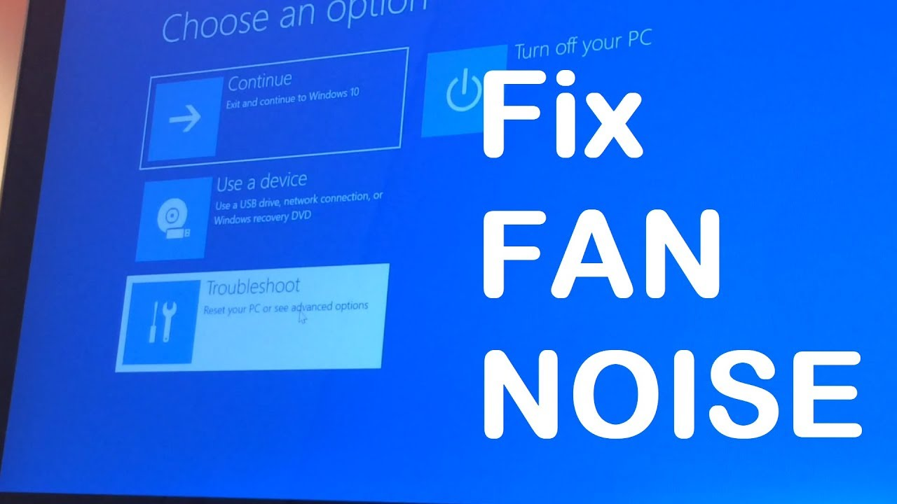 How to fix fan noise issue in an ultrabook