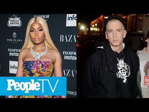 Is Nicki Minaj Dating Eminem? Rapper Replies 'Yes' To Rumors As She Details New Album  PeopleTV