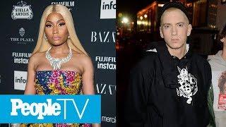 Is Nicki Minaj Dating Eminem? Rapper Replies 'Yes' To Rumors As She Details New Album | PeopleTV