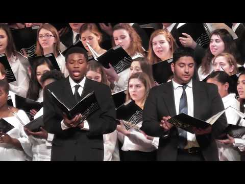 2018 Southeastern District  Senior Music Festival Bourne High School MA Chorus 3