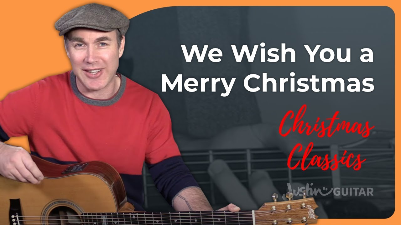 We Wish You A Merry Christmas Guitar Lesson Tutorial Easy Chords