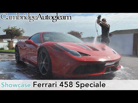 Ferrari 458 Speciale - New Car Detail by Cambridge Autogleam