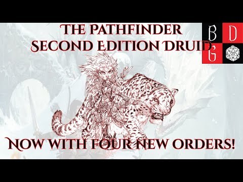 The Pathfinder Second Edition Druid - Now With Four New