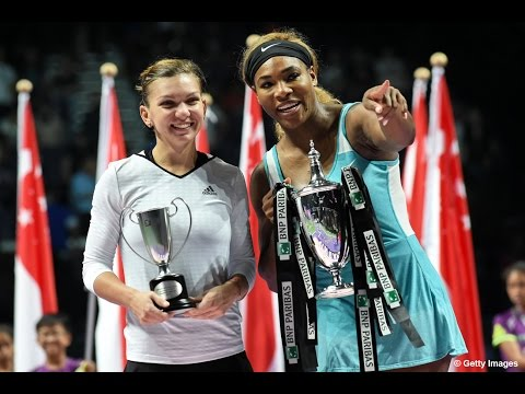 Serena Williams vs Simona Halep Final Highlights | 2014 WTA Finals