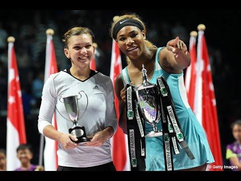 Serena Williams vs Simona Halep Final Highlights  2014 WTA Finals
