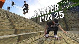 LEGENDARY LYON 25 STAIR in SKATER XL - Insane Session! (360 Triple Flip, Fs 720 and more)