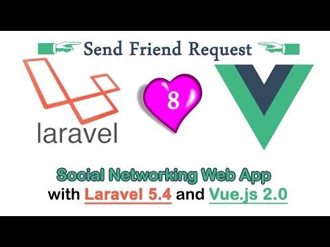[2017] Send Friend Requests || Find Friends || Add to friends || Social networking Tutorial - Part 8