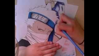 Drawing of Momochi Zabuza