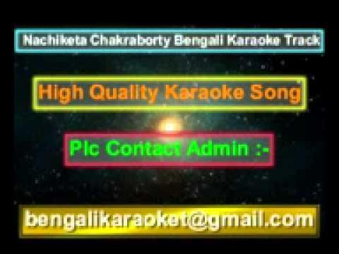 O Kolkata O Kolkata Karaoke Nachiketa Chakraborty
