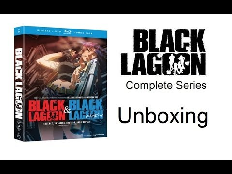 Unboxing: Black Lagoon: Complete Series - Season 1 & Season 2 (Blu-ray / DVD Combo Pack) [HD]
