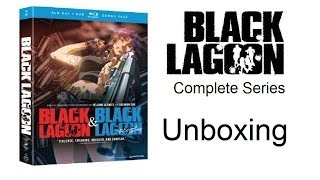 Unboxing: Black Lagoon: Complete Series - Season 1 & Season 2 (Blu-ray / DVD Combo Pack) [HD]