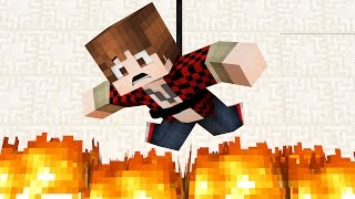Don't Trust The Floor, It's 'Lava' And Will Kill You! (Minecraft)