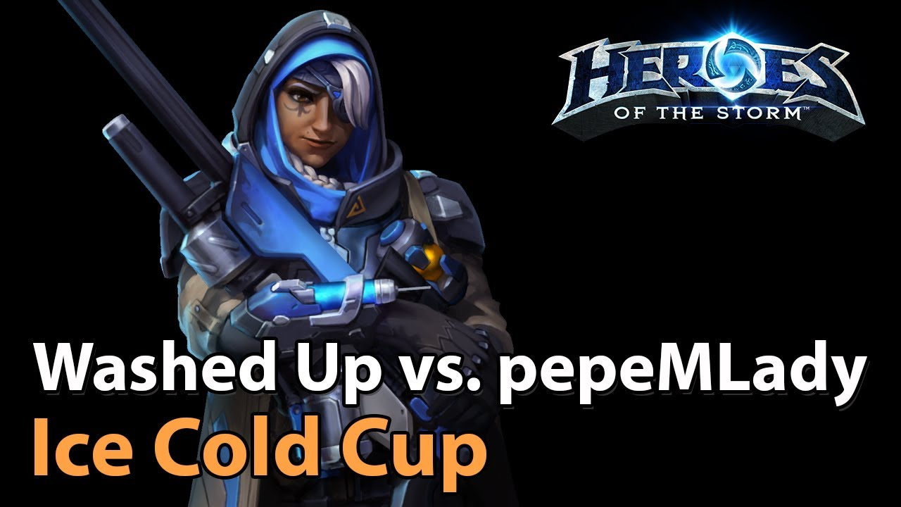 ► Washed Up vs. pepeMLady - Ice Cold Cup (Semi-Finals) - Heroes of the Storm Esports