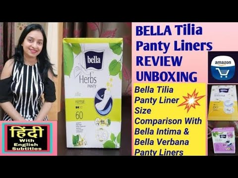 bella-tilia-panty-liners-review-and-amazon-pantry-order-unboxing-in-hindi