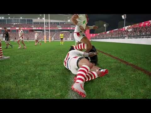 Rugby League Live 4 Tries, Saves & Plays