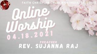 FCCIndia Live Worship 04/18/2021 | FCCI St. Louis