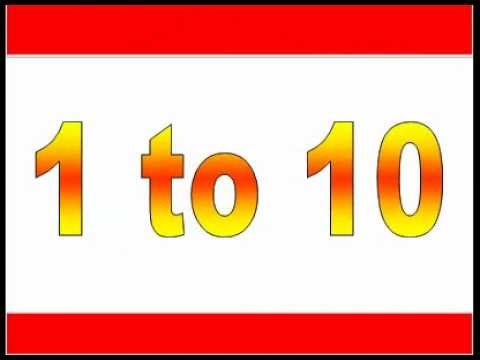 Worksheets Nursery Maths nursery maths 1 to 10 numbers learn with animation youtube animation