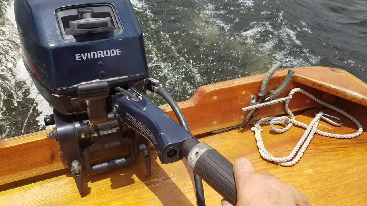 1995 Evinrude 15hp, 2 cycle, pull start